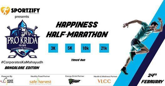 ProKrida Happiness Half-Marathon