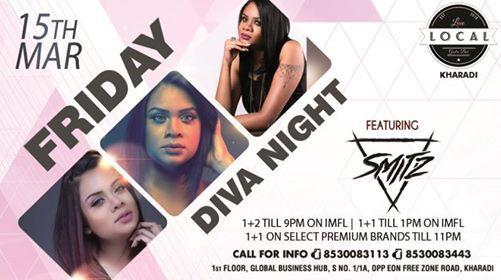 Friday Diva Night with Dj Smitz