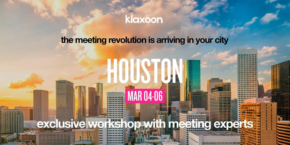 How to improve your meeting and teamwork efficiency - Houston
