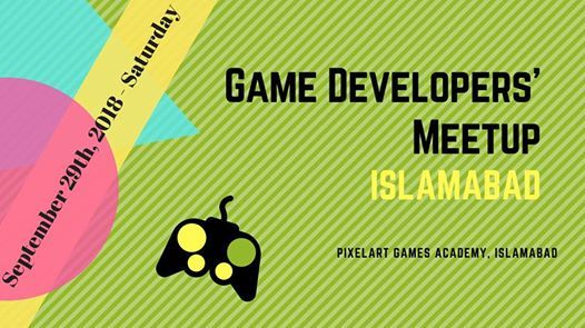 PixelArt Games Academy - Game Developers Meetup Islamabad