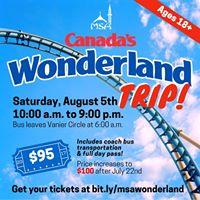 MSA Wonderland Trip 2017