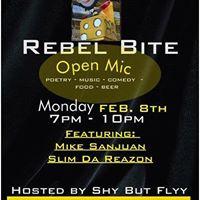 Mike Sanjuan  Slim De Reazon at Rebel Bite