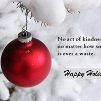 Holiday Random Acts of Kindness
