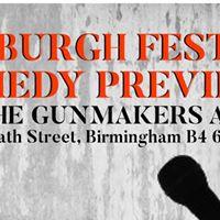 Edinburgh Festival Comedy Previews