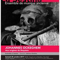 Concert interactif  Johannes Ockeghem - Aux origines du Requiem