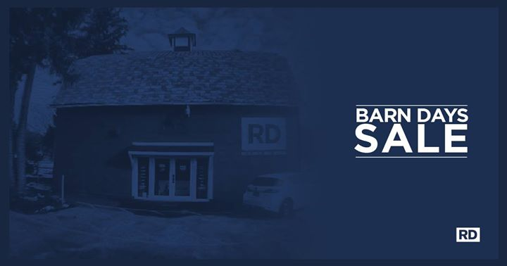 Rd Winter Barn Days Sale 2018 At Research And Design Orchard Park