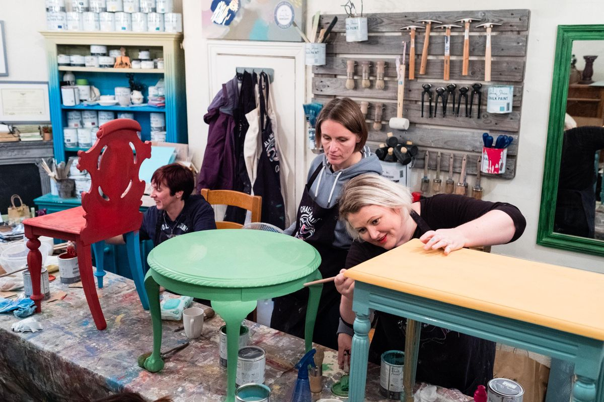 Annie Sloan Method for Painted Furniture Workshop - The Basics