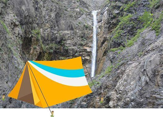 Sheki Gainar Villagewaterfall Camping