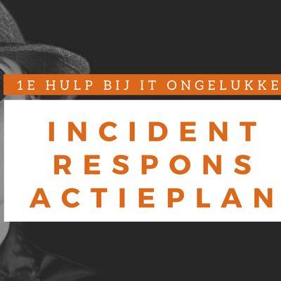 Incident Response Actieplan Klassikale Training (Nederlands)