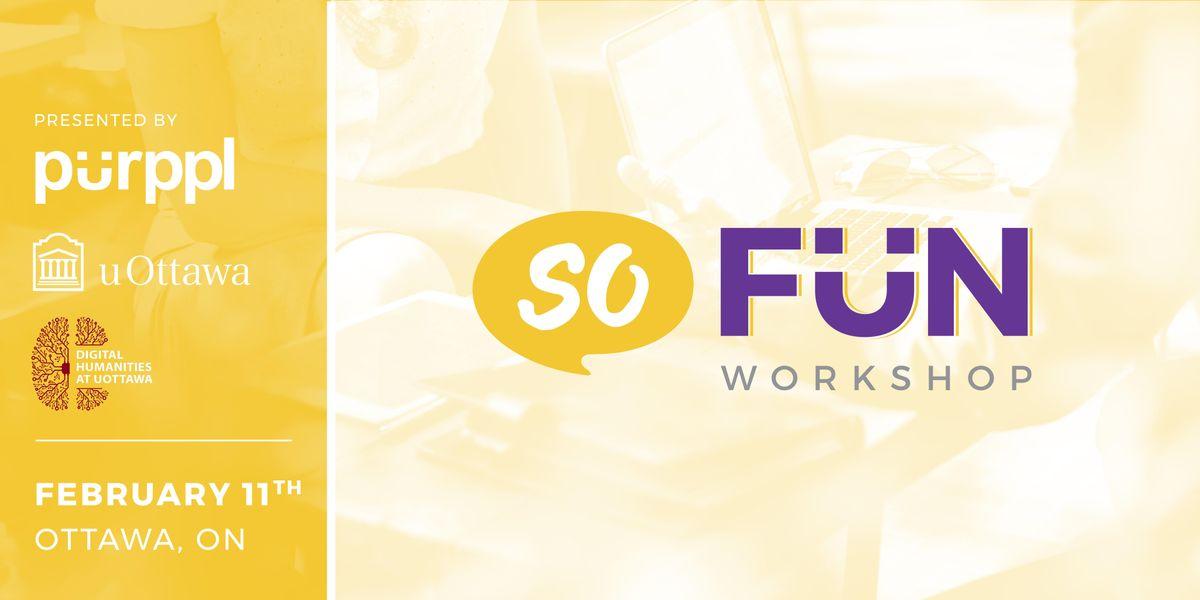 SoFun - Social Enterprise Fundamentals Workshop