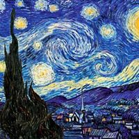Recreate a classic  Vincent Van Goghs &quotStarry Night&quot