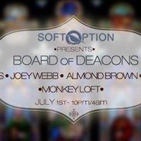 Soft Option Board of Deacons w Riz Joey Almond Vagabond Karl