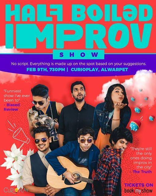 The Half Boiled Improv Show