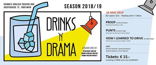 Drinksndrama At Viennas English Theatre Vienna