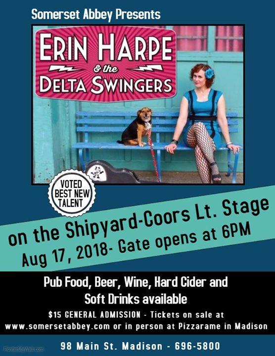 Erin Harpe and the Delta Swingers. Somerset ...