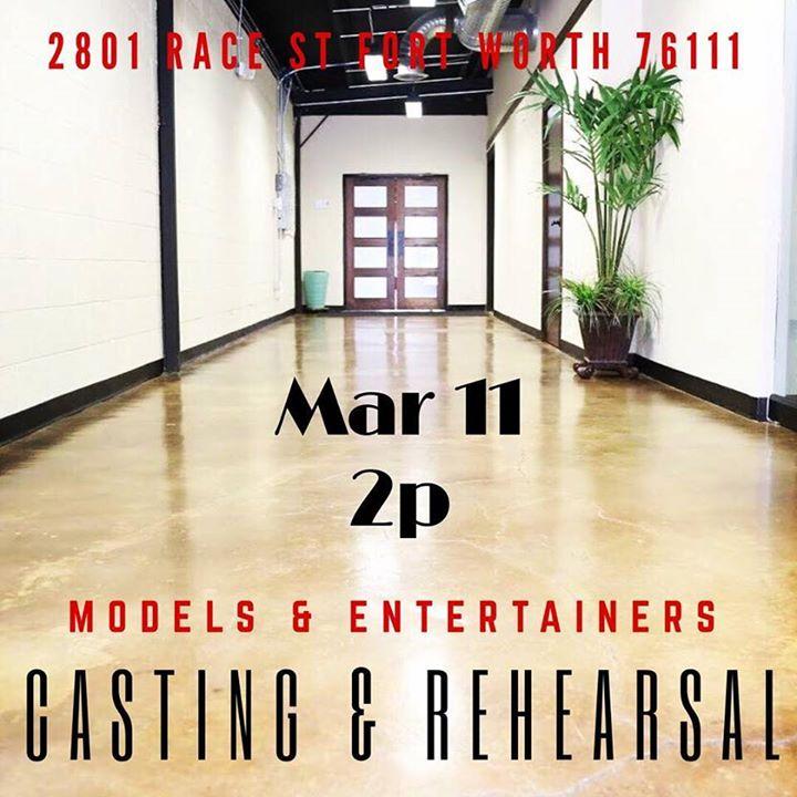 TalentFashion Show Casting & Rehearsal