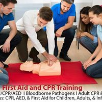 Basic First Aid CPR and AED Training
