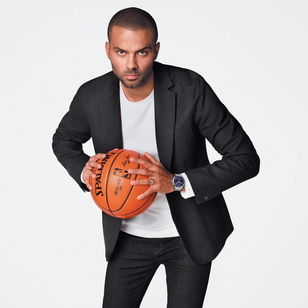c27626105d95 Meet TONY PARKER with Tissot   the Charlotte Hornets at Hornets Fan ...