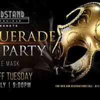 Cool off tuesday Masquerade Ball Party at Bandstand