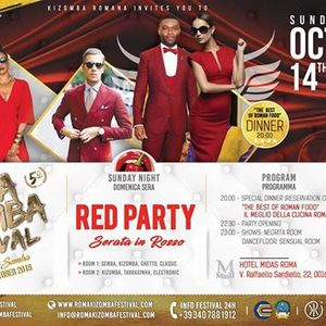 RMKF 2018 Sunday Party  Red Party