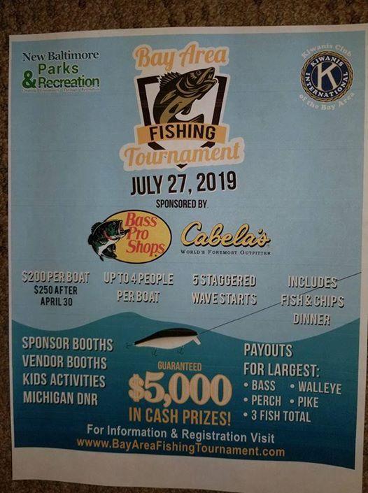 Lake St. Clairs Premier Multi-Species Fishing Tournament