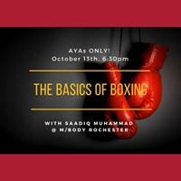 AYAs ONLY The Basics of Boxing