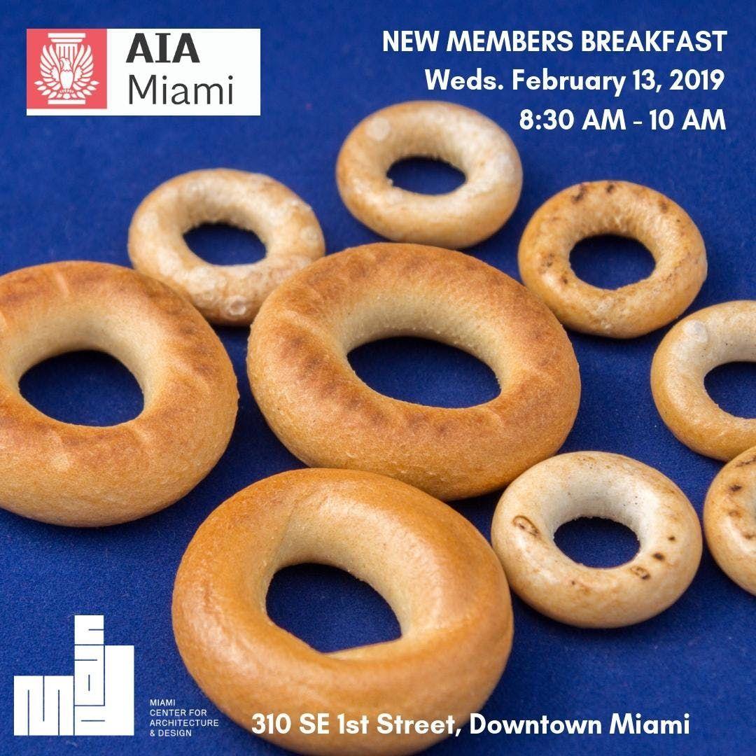 AIA Miami New Member Breakfast