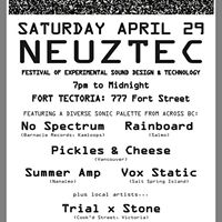 NeuzTec Festival of Experimental Sound Design and Technology