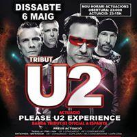 Tribut U2 - Please - Discoteca Number One Terrassa
