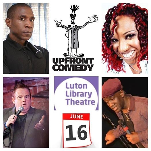 Upfront Comedy at Luton Library Theatre