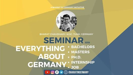 Everything About Germany Seminar in Ahmedabad