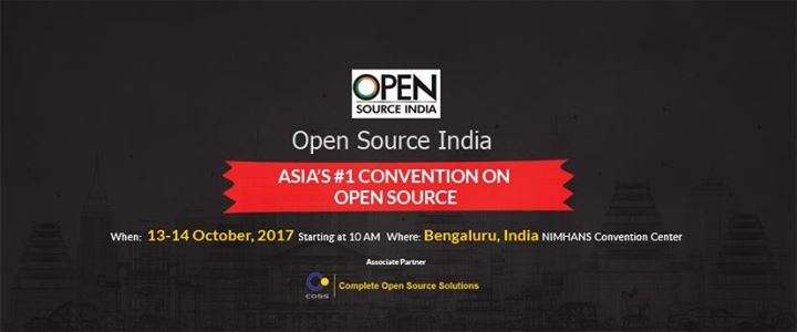 Open Source India 2017 Bangalore