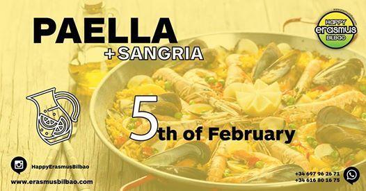 Happy Paella & Sangra Night