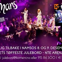 rets tffeste julebord - Wallmans On Tour i NTE Arena Namsos