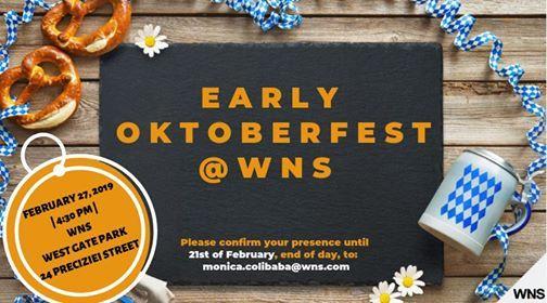 WNS Early Oktoberfest