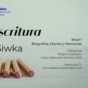 Taller de Escritura con Colette Siwka