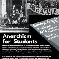 Anarchism for Students