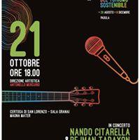 Nando Citarella &amp Pejman Tadayon duo in concerto