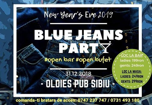 New Years Eve 2019 - Blue Jeans Party