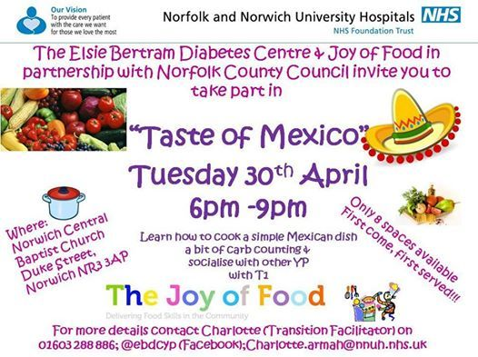 Taste of Mexico at Norwich Central Baptist Church, Norwich