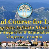 Infinite Bliss Course for Ladies 31 August to 8 September 2017
