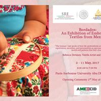 Bordados An Exhibition of Embroidered Textiles from Mexico