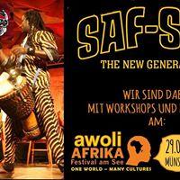 Afro Workshops und Konzerte am Awoli Afrika Festival 2017