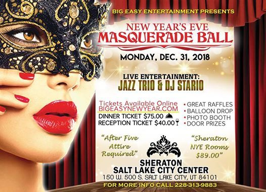 NYE Masquerade Ball 2018