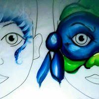 Face Painting At Dundas Arcade