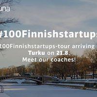 Startup Sauna for 100 Finnish Startups at SparkUp