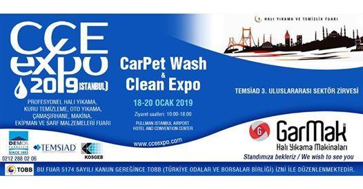 CarPet Wash & Clean Expo 1. Hal Ykama ve Temizlik Fuar