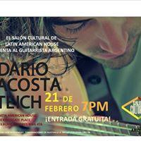 Presentacin del Guitarrista Argentino Dario Acosta Teich