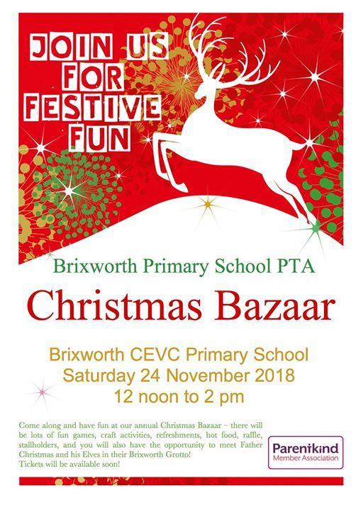 Christmas Bazaar Near Me.Christmas Bazaar 2018 At Brixworth Cevc Primary School