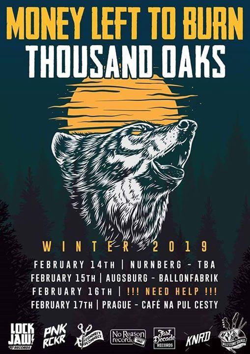 Punkrock Thousand Oaks  Money Left to Burn  Cheap Jake